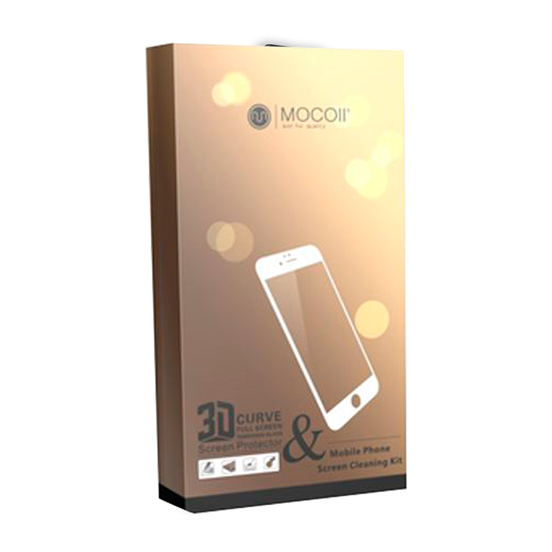 Защитное стекло для iPhone X Mocoll 3D Gold Diamond Standart